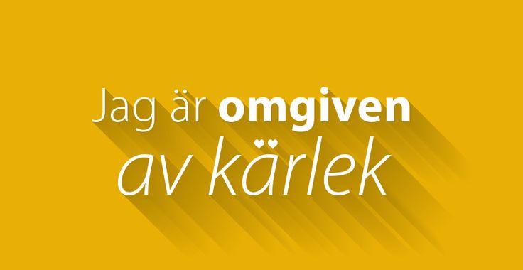 Positiva affirmationer på #svenska!