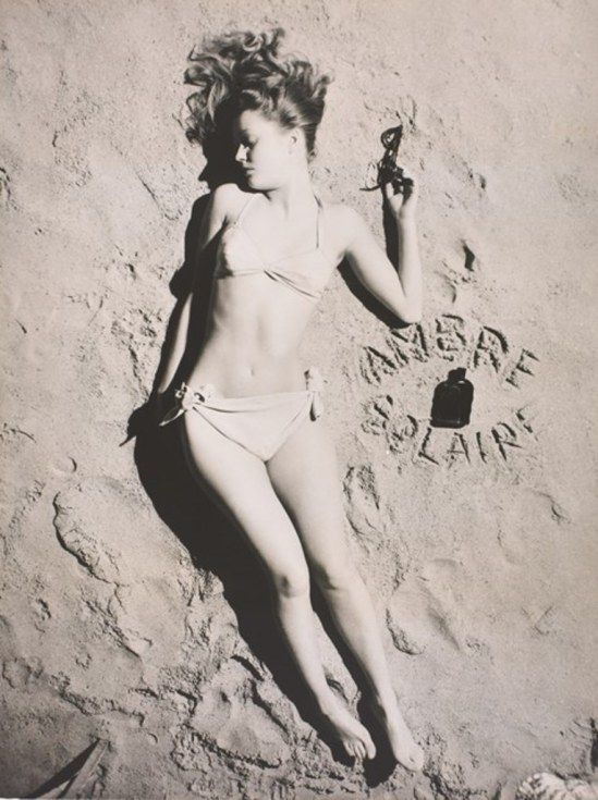 Lucien Lorelle. Miss ambre solaire vers 1947