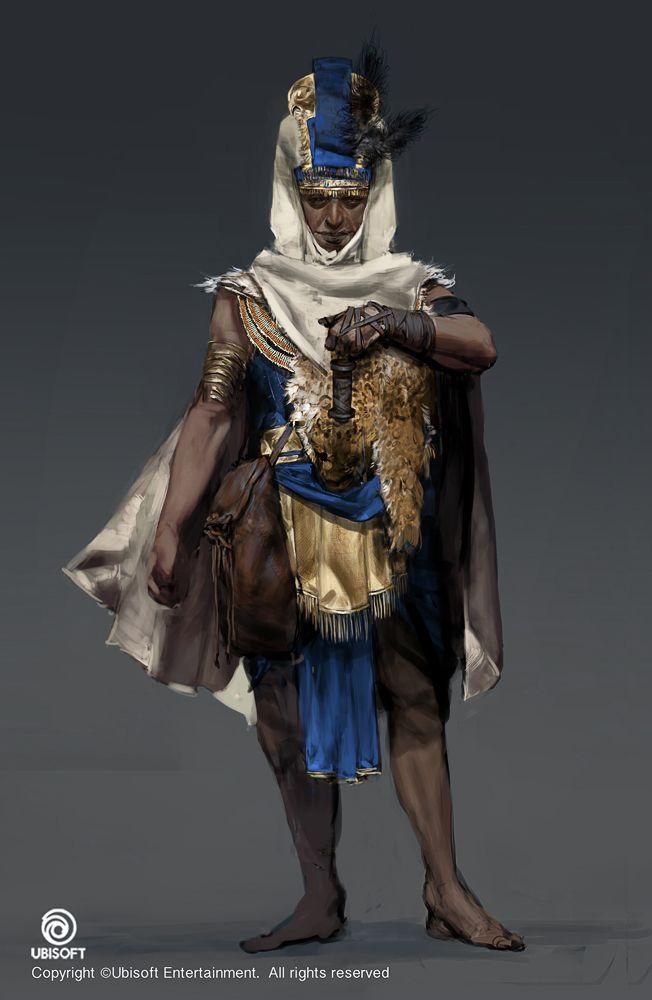 Assassin S Creed Origins Character Concept Art Simpsons Art
