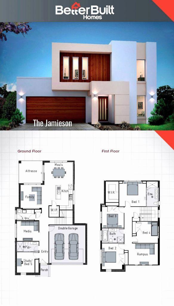 32 Plan De Construction De Maison Gratuit Plan De La Maison 2 Storey House Design Double Storey House Underground House Plans