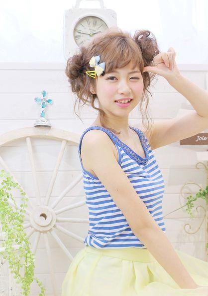 ☆sCene est☆ ボンボンスタイル | 茨木の美容室 sCene ESTのヘアスタイル | Rasysa(らしさ)