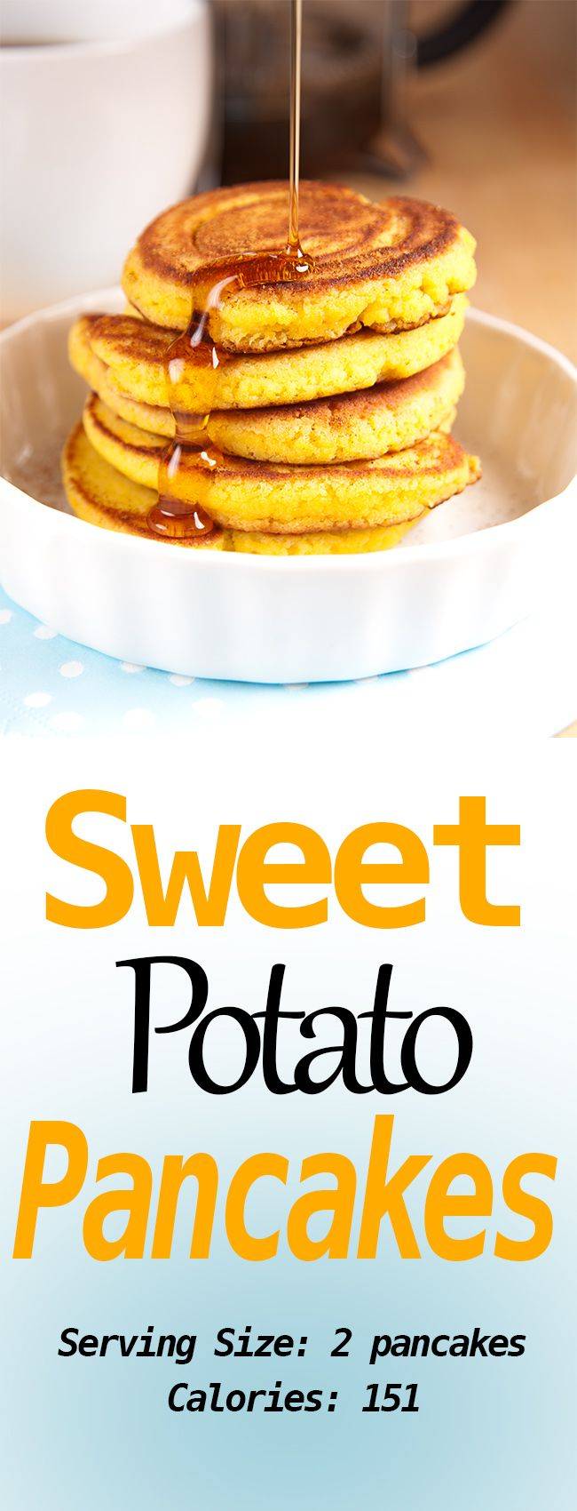 Diet Sweet Potato Pancakes – Secret Diet Tips