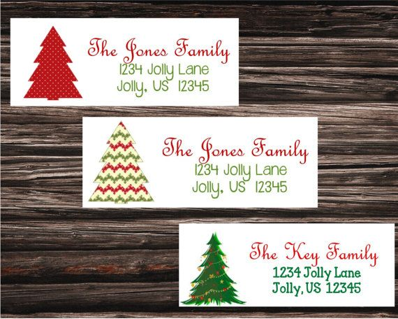 17 best christmas return address labels images by elizabeth on
