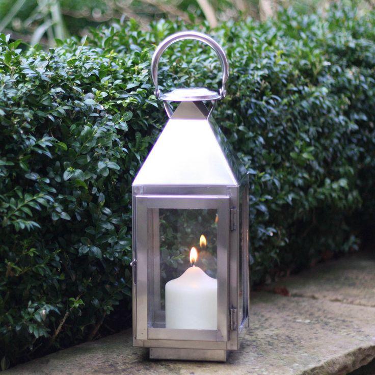 Silver Lantern for Weddings - The Wedding of My Dreams