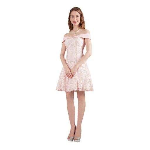 This lace dress is so feminine, and also comes in other colours.
