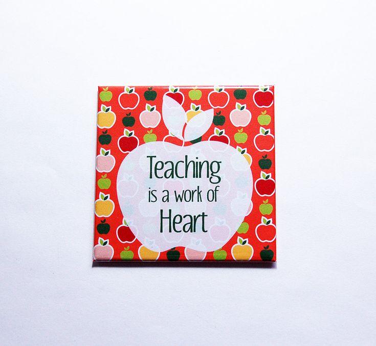 Magnet for teacher, Teacher appreciation, Gift for Teacher, Teacher Magnet, magnet, End of School Year Gift, Teacher gift (7498) by KellysMagnets on Etsy