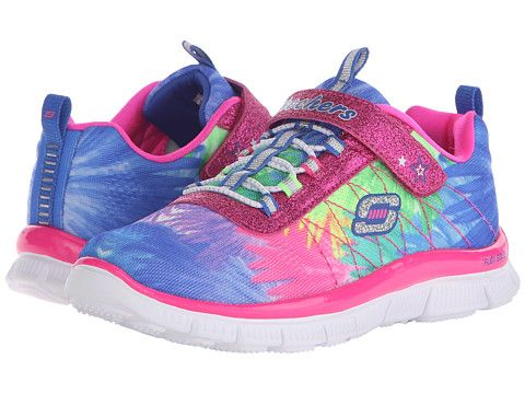 Skechers Appeal Hot Tropic, Running Fille, Multicolore (Multicolour), 30 EU