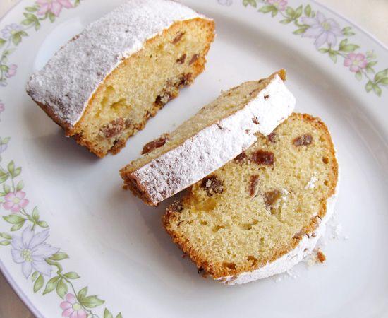 raisin cake, кекс с изюмом