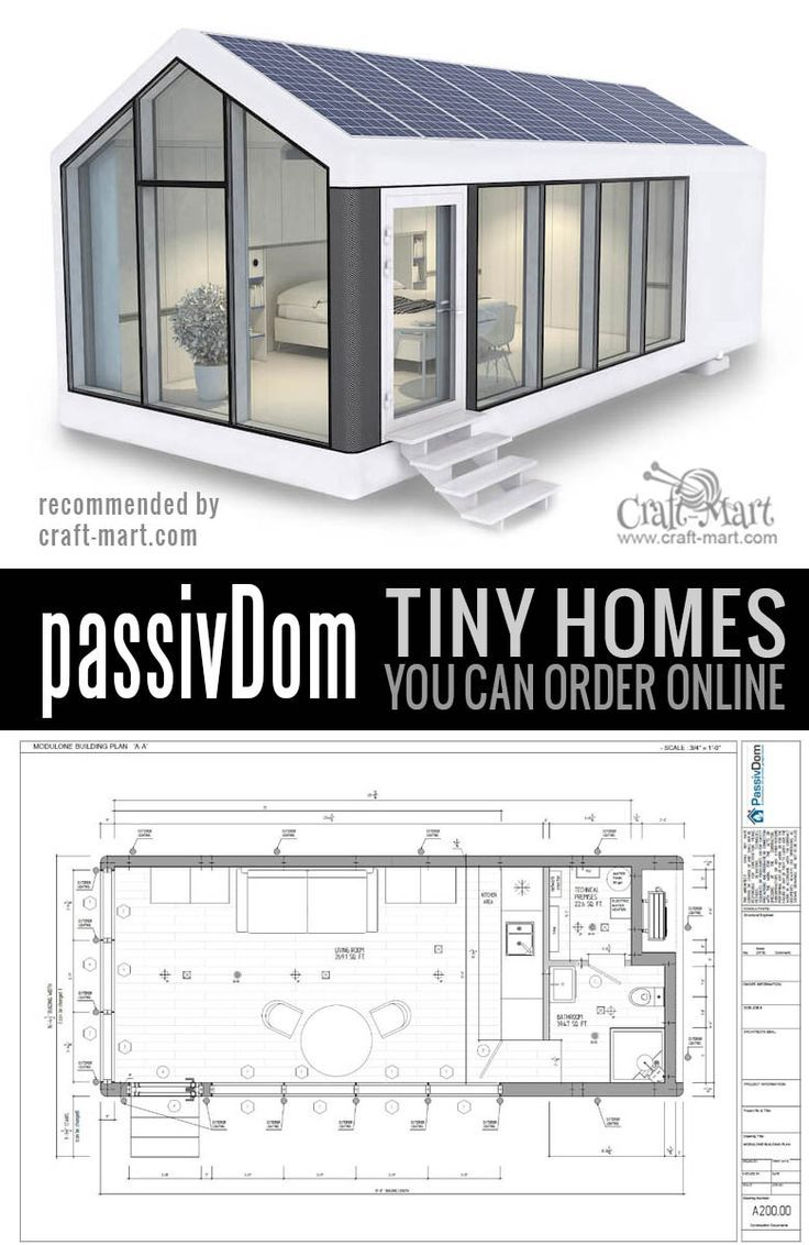 High Tech Modern Tiny Houses Most Of Us Can Afford Craft Mart Modern Tiny House Tiny House Cabin Pre Fab Tiny House