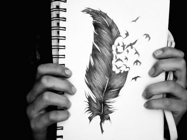 Рисунок пера карандашом (10 фото) (10)