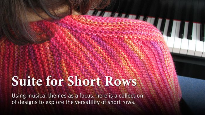 Short Row Knitting Patterns : 1000+ images about All about short rows on Pinterest