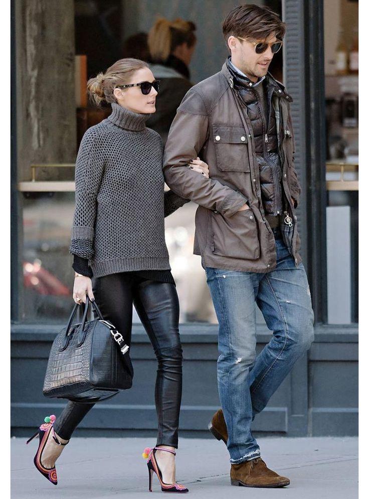 casal muito estiloso: Olivia palermo e Johannes Huebl