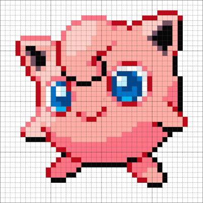 #39 Jigglypuff – Minecraft Pixel Art