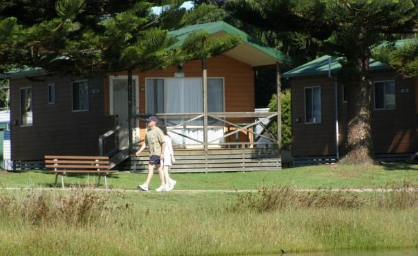 Narooma accommodation, Waterfront Bungalow, caravan park, family, NSW » BIG4 Narooma Easts Holiday Park