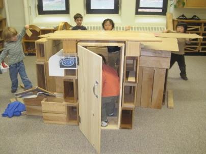 Child size door in block area-LOVE IT!!