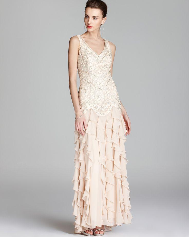 18 best 20s dresses images on pinterest 20s dresses dress skirt sue wong gown beaded ruffle skirt bloomingdales junglespirit Images