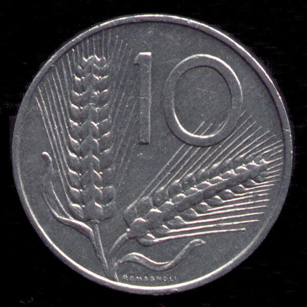 10 lire 1951-2001