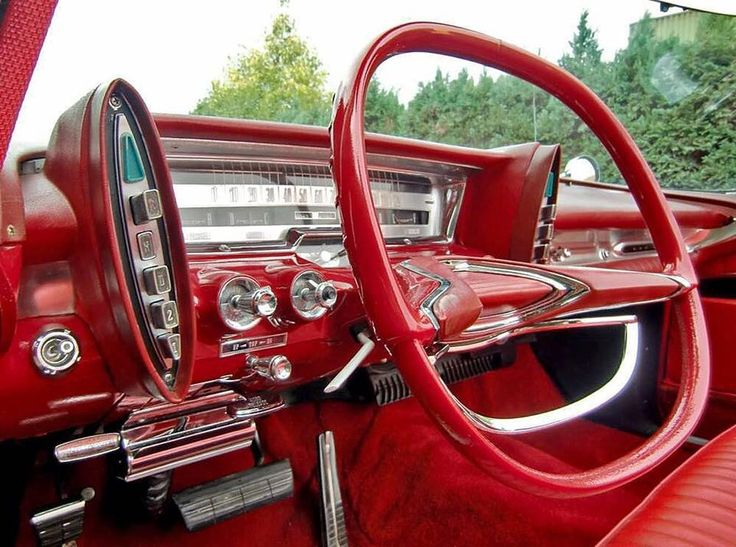 Best Vintage Car Interiors Images On Pinterest Car Interiors