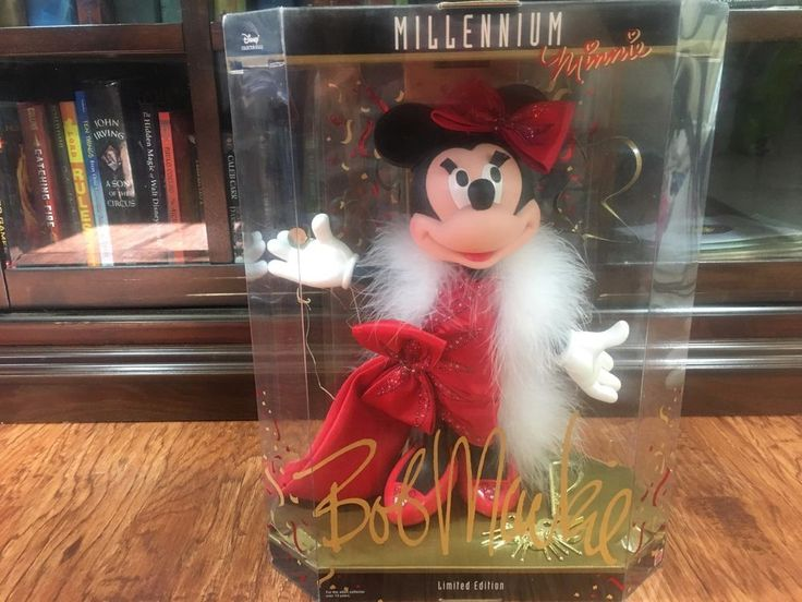 2000 MATTEL LIMITED EDITION MILLENNIUM DISNEY MINNIE MOUSE BY BOB MACKIE  #Disney #Dolls