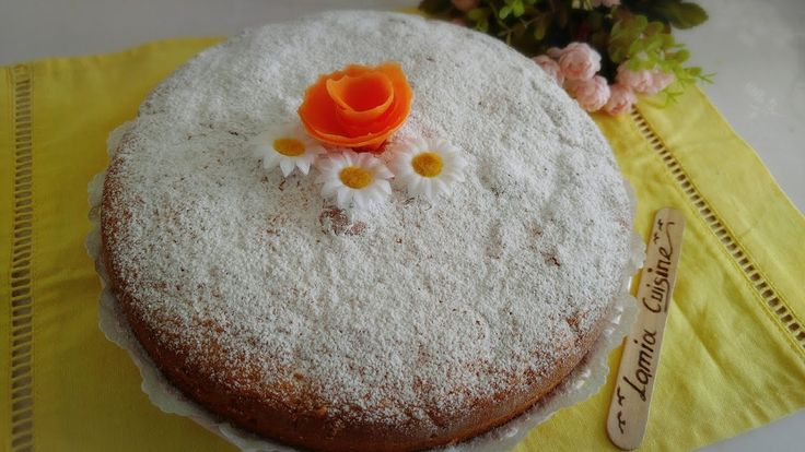 كيكة الجزر بعصير البرتقال خفة وبنة وفيتامين Desserts Food Cake