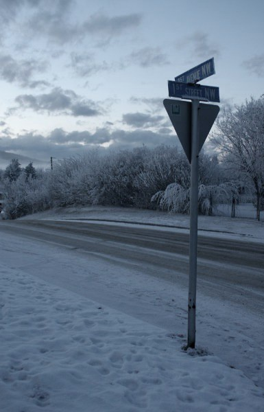 Winter in Alberta. From Black Diamond.