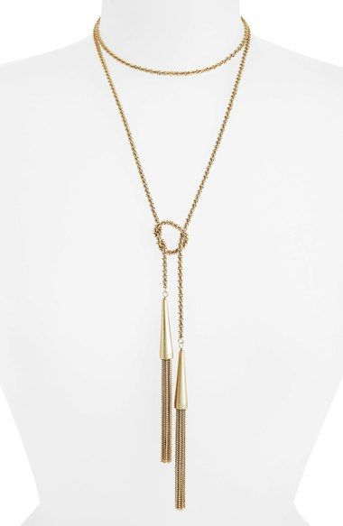 Hot Fall Jewelry Trend: Lariat Necklace