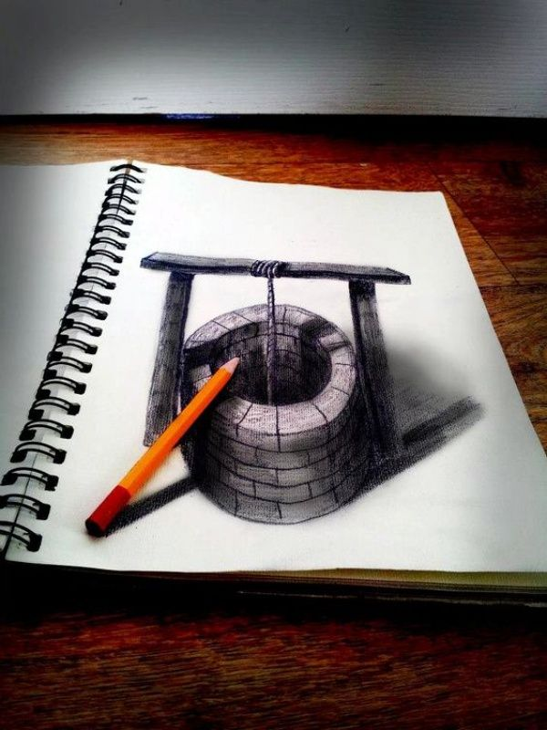 40 Mind Blowing Pencil 3d Drawings That Will Confuse Your Brain 3d Pencil Drawings 3d Drawings Easy 3d Drawings