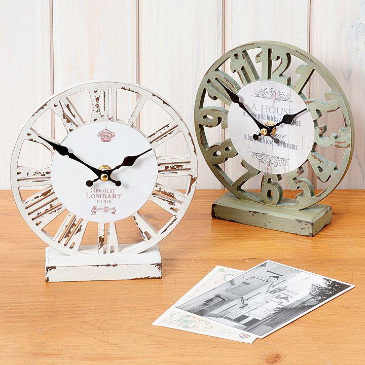 【楽天市場】オールドルック テーブルクロック スケルトン keystone(キーストーン)・おしゃれで大人気の置き時計(飾り時計)♪子ども部屋にリビングにぴったりの可愛いデスククロック。インテリアにおすすめ! インテリア 生活雑貨 アンティーク:Moewe global(メーヴェ)