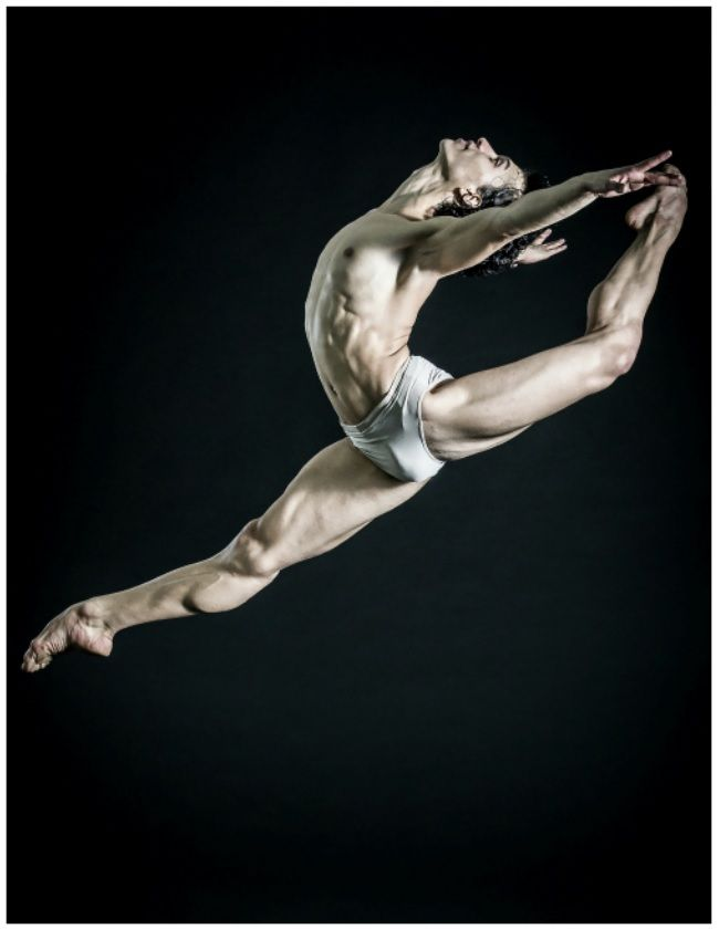 Argenis Montalvo, National Ballet Company, México. Photo: Carlos Quezada