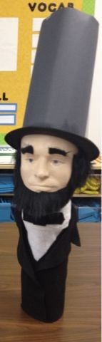 bottle biography abe lincoln | This little gem of Abe Lincoln kept me awake at night...his lifesize ...
