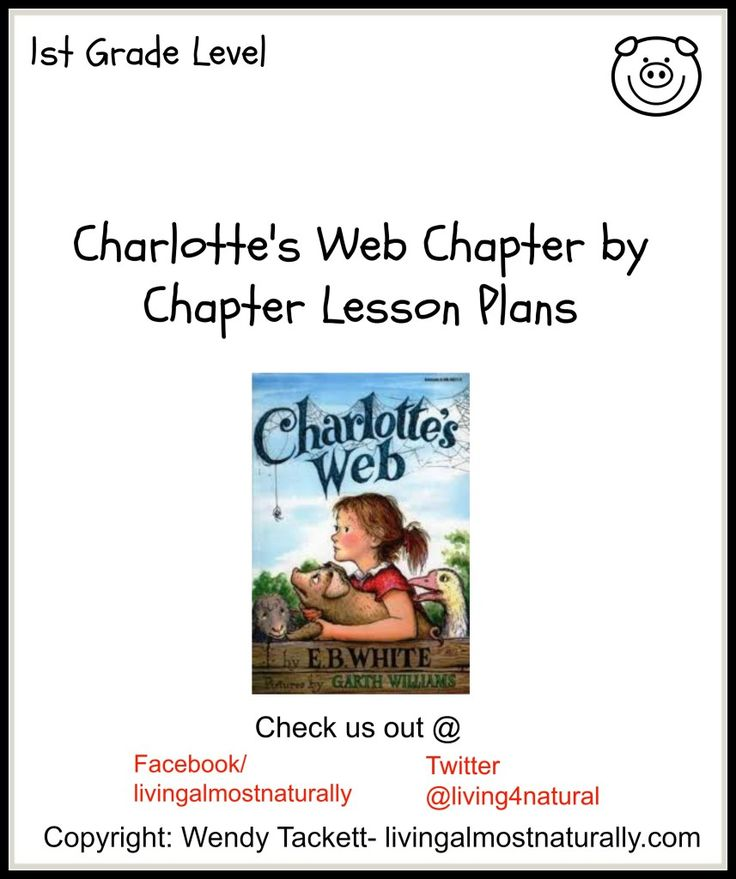 Charlottes Web Chapter by Chapter Study Guide- FREE ...