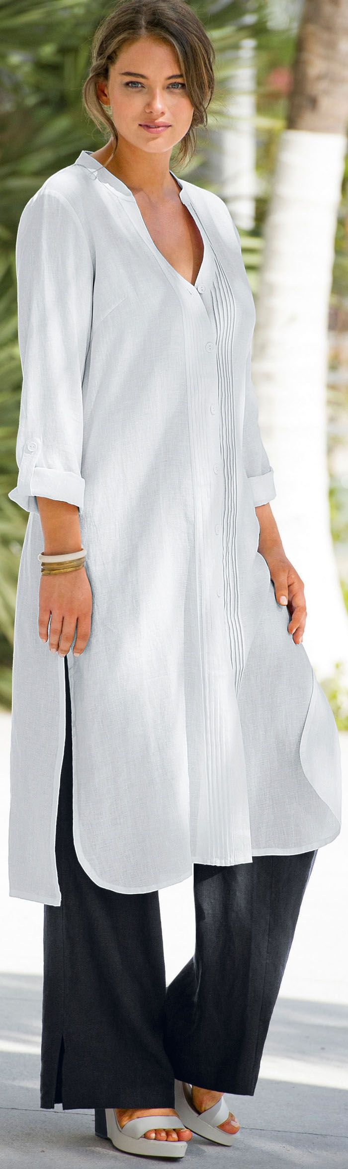 Best dresses to wear to a beach wedding   best images about White dresses on Pinterest  Caftans Tunics and