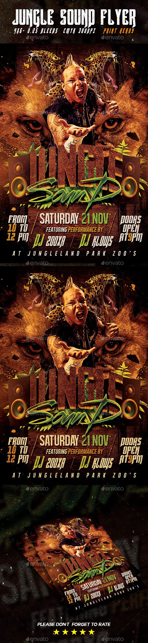 Jungle Sound Flyer