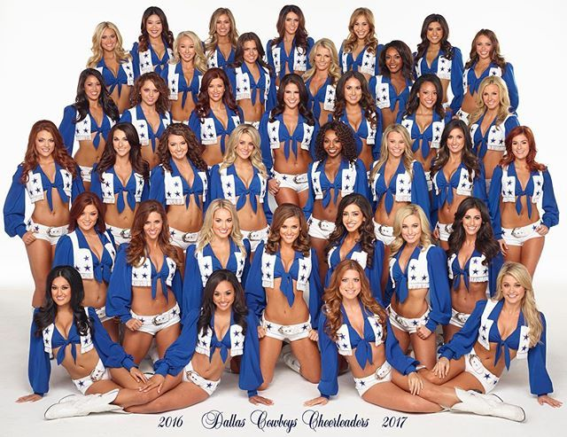Your 2016-2017 Dallas Cowboys Cheerleaders! Click on the link in our profile to learn more about this year's team members!
