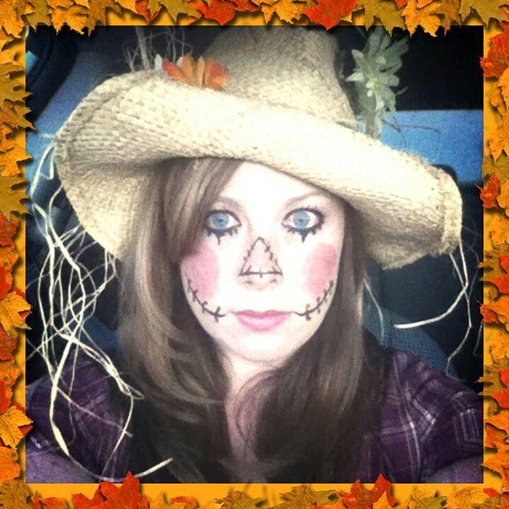 makeup for scarecrow halloween costume