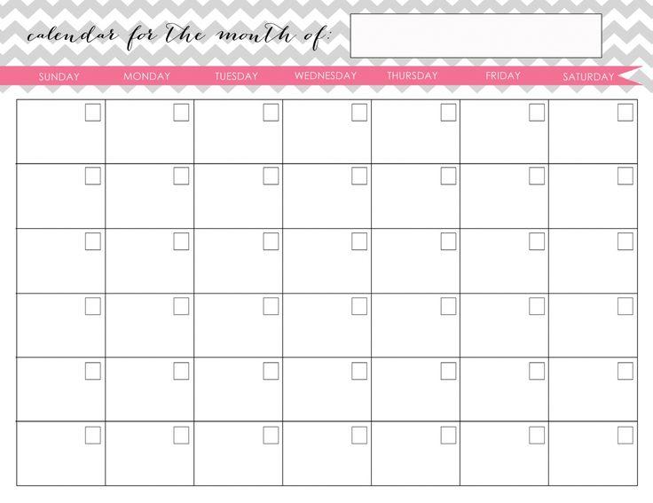 Printable Calendar - Dr. Odd