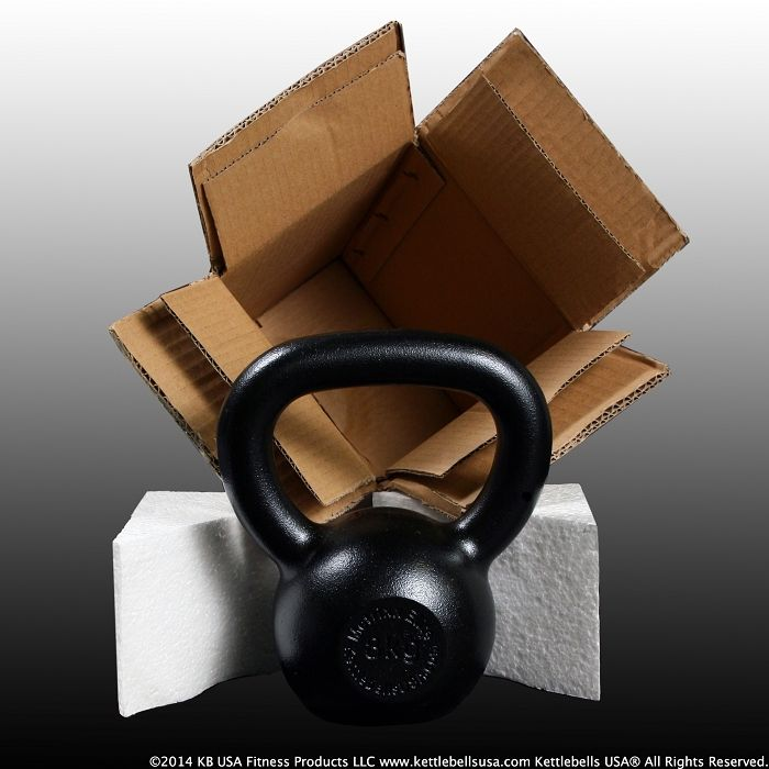 Metrixx® Elite Precision E-Coat Kettlebells by Kettlebells USA® are Professionally Packaged to Prevent Shipping Damage. FREE SHIPPING to the lower 48 states! Used and endorsed by StrongFirst & RKC instructors. #kettlebell #kettlebells #fitness #russiankettlebells #girya #kettlebelldeals #crossfit #crossfitgear #crossfitgames #strength #strongfirst #rkc #noexcuses