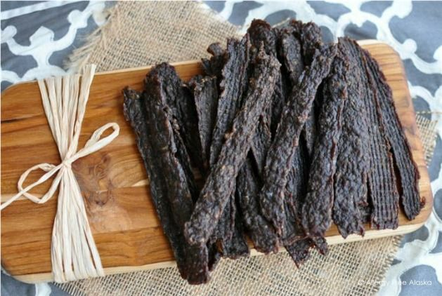 CHEAP  EASY BEEF JERKY STRIPS USING GROUND BEEF
