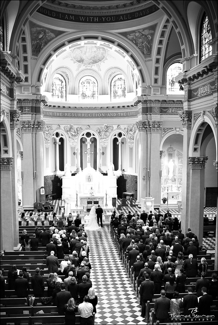 St Patricks Cathedral Wedding Harrisburg Pa