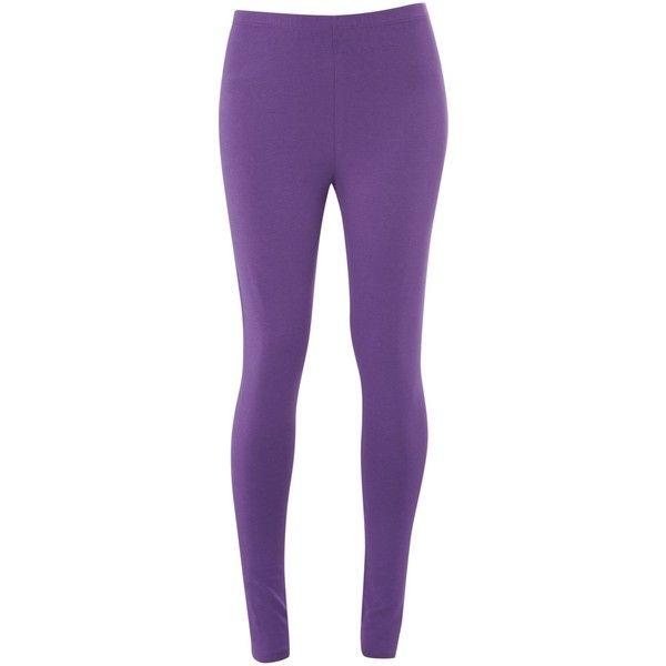 White Stuff Jumping Lil Leggings ($16) ❤ liked on Polyvore featuring pants, leggings, artichoke purple, white legging pants, white elastic waist pants, purple pants, white leggings and white pants