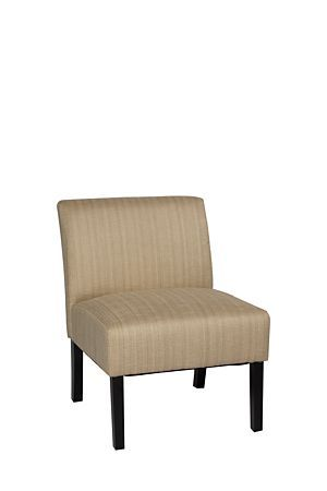 """The retro styling of this chair is perfect for an urban lounge setting. Upholstered in a tonal polyester, this chair is comfortable and practical.<div class=""""pdpDescContent""""><ul><li> Polyester</li><li> Pine and chip board</li><li> Birch wood legs</li><li> Assembly required</li></ul></div><div class=""""pdpDescContent""""><BR /><b class=""""pdpDesc"""">Dimensions:</b><BR />L64xW73xH81 cm<BR /><BR /><b class=""""pdpDesc"""">Fabric Content:</b><BR />100% Polyester<BR /><BR /><div><span class=""""pdpDescCollapsible…"""