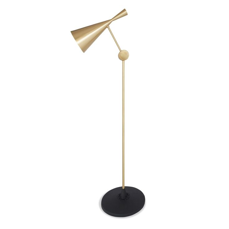 Discover the tom dixon beat brass floor at abc carpet home inspired by the sculptural simplicity of brass cooking pots and traditional water vessels