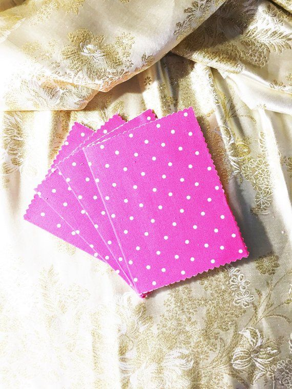 Textile Cards, Gifts under 10, Stationery Set, Textile Note Cards