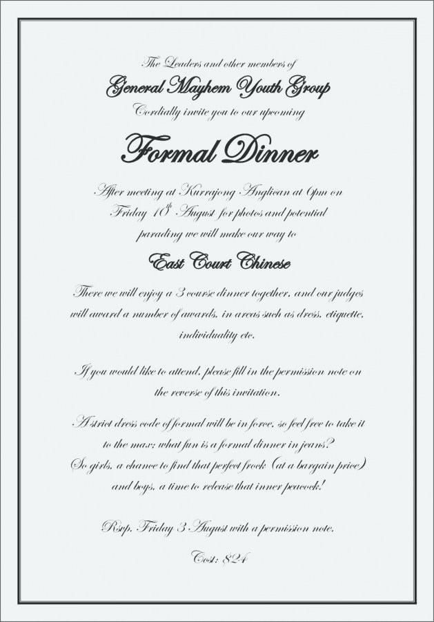 10 Format Of Design And Create A Formal Invitation Card Template Brainly And Review Pernikahan