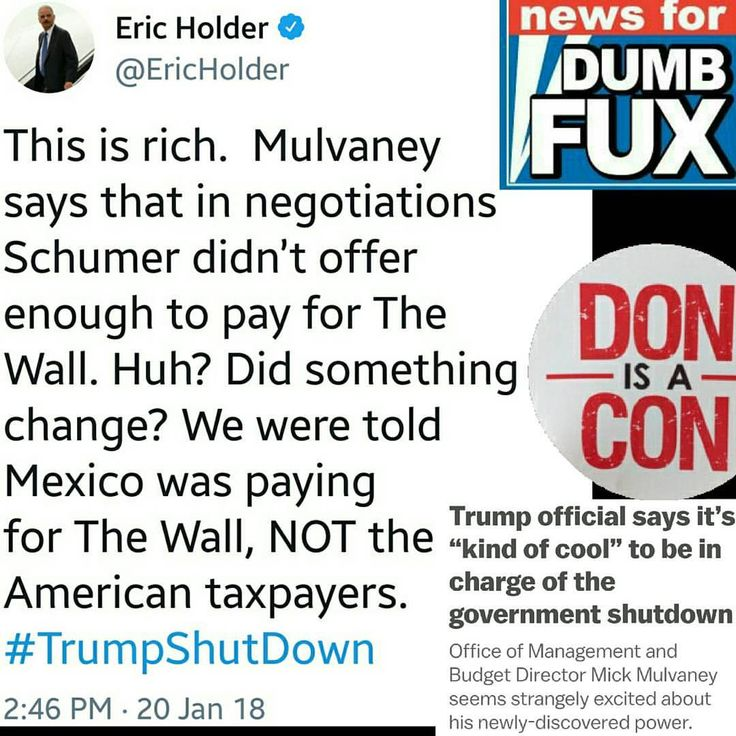 Well, drumpty does keep changing who he says is going to pay for his imaginary wall. lol #stablegenius at work.