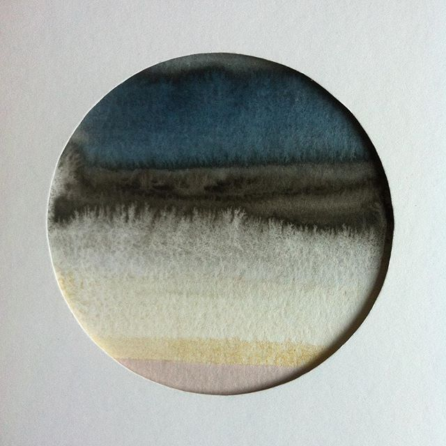 #circle #art #akvarel #watercolor