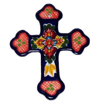 Talavera Large Colonial Cross Crosses Pinterest