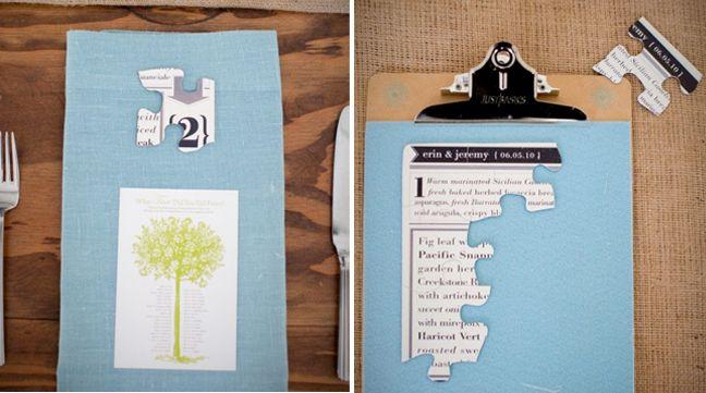 36 Best Weddings Theme Puzzle Images On Pinterest