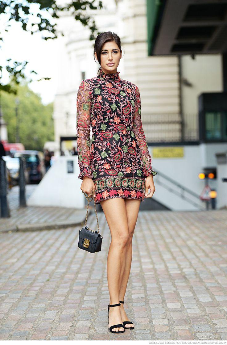 ❤ #street #fashion #snap by  Nargis Fakhri | Carolines Mode