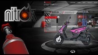 Personalización de Yamaha BWS con una aplicacion